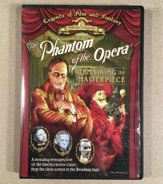 2013 Legends Of Film And Fantasy Phantom Of The Opera Movies Documentary On Dvd