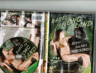 Babes Of Kong Land Dvd (usa Skin - Fest: A Kong Parody W/nudity,  Simulated Sex) R