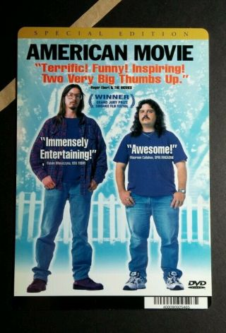American Movie Special Ed Photo Plastic Mini Poster Backer Card (not A Dvd)