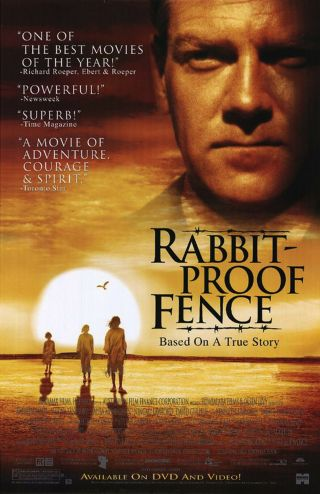 Rabbit Proof Fence (2002) Dvd Movie Poster - Rolled