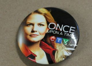 Once Upon A Time Dvd Tv Show Promotional Pin Of Jennifer Morrison As Emma Swan