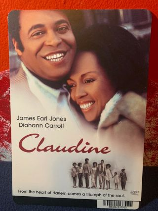 "Claudine - James Earl Jones Dvd Placard Picture 8"" X 5"" Sign Backer Room Decor"