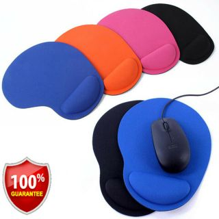 Ergonomic Non - Slip Mouse Pad Mat With Wrist Rest Support For Computer Laptop Pc@