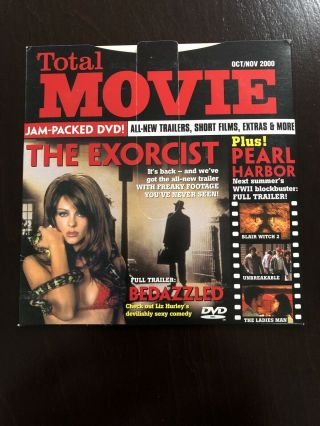 Total Movie Dvd Oct/nov 2000 Exorcist Freaky Footage & Short Films Dancing Cow