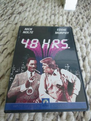 48 Hours Dvd Movie - Eddie Murphy And Nick Nolte