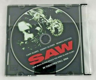 Saw - Horror Film - Promo Preview Dvd - 2004
