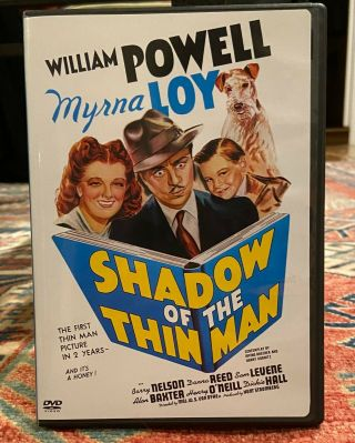 Shadow Of The Thin Man (dvd,  1941) Used/good