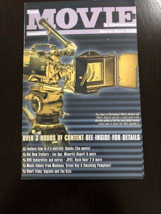 Total Movie Inside Dvd March/april 2002 Includes Feature Film Omaha (the Movie)