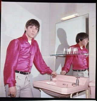 The Who Keith Moon Iconic Photo Camera 2.  25 X 2.  25 Transparency 1960