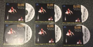 Elvis Presley That's The Way It Is 6 Dvd Set