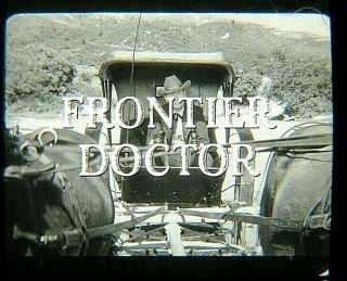 """35mm Vintage Western Series Frontier Dr Season 1 """" The Confidence Gang """" 1959"""