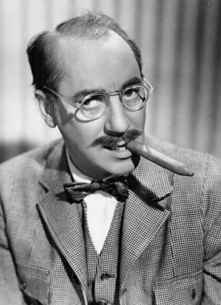 "16mm "" You Bet Your Life "" With Groucho Marx"