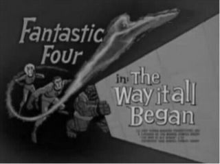 "16mm Tv Show "" Fantastic Four "" Episode: "" The Way It All Began "" Net W/commercials"