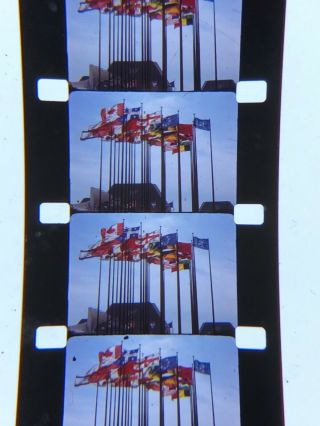 16mm Silent Kodachrome Home Movie Man&his World Montreal Worlds Fair 1969 200""