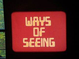 16mm Film Ways Of Seeing Bbc Episode 3