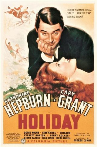 Holiday 16mm - Katharine Hepburn,  Cary Grant