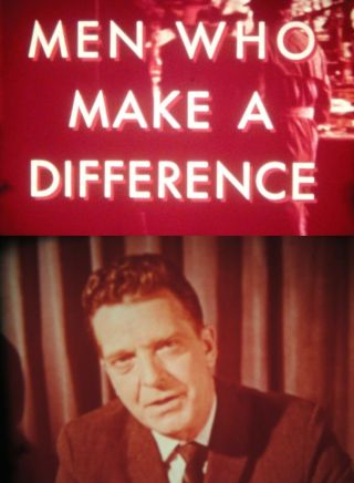 "16mm Boy Scouts; "" Men Who Make A Difference "" - - The World Of Scouting In 1962"