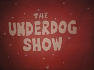 16mm The Under Dog Show Bubble Heads Part 600