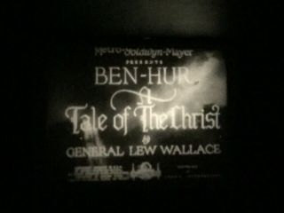 "8mm Silent Film "" Ben Hur "" 1927 3 - 800"
