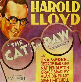 16mm Harold Lloyd The Cat