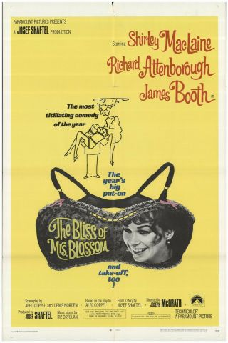 Bliss Of Mrs.  Blossom 16mm Feature