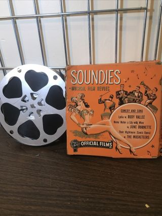 Official Films Musical Soundies Rudy Vallee Others 50ft 16 Mm X241