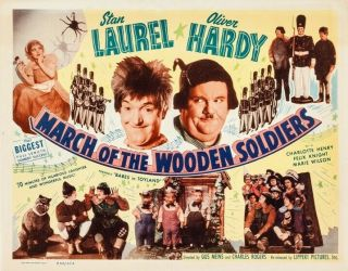 March Of The Wooden Soldiers 16mm - Laurel & Hardy