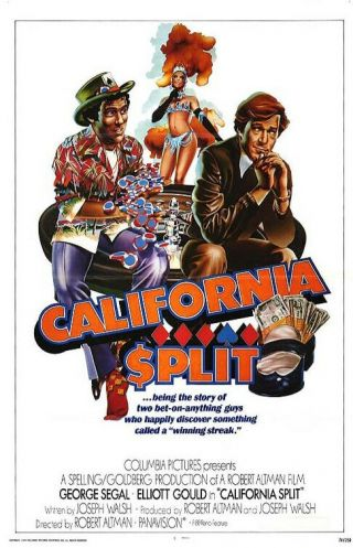 "16mm Production Short "" California Split "" (1974) Robert Altman Directs"