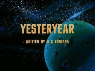 "16mm Tv Show: "" Star Trek Animated "" (1973) "" Yesteryear "" Written By D.  C.  Fontana"