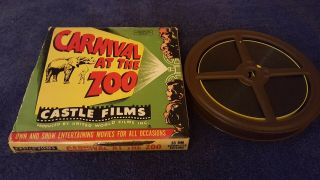 "Castle Films - "" Carnival At The Zoo "" - 16mm Sound,  B&w"
