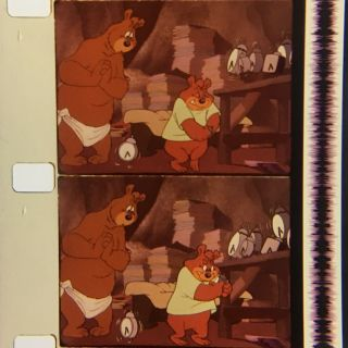 "16mm Film Cartoon: Merrie Melodies - "" A Bear For Punishment """