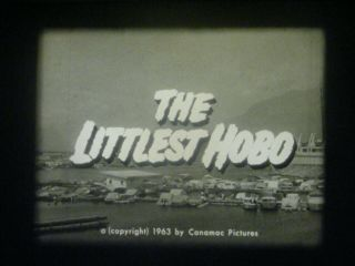 "16mm Tv Show - The Littlest Hobo - "" Blue Water Sailor "" - 1963 - Syndicated Tv Print"