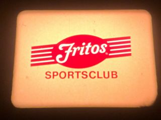 """16mm Tv Short: """"fritos Sports Club"""",  With Baltimore Orioles' Ace Dave Mcnally"""