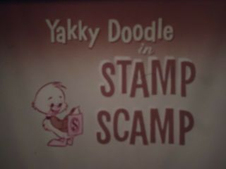 16mm Yakky Doodle Stamp Scamp