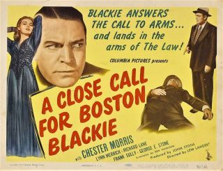 A Close Call For Boston Blackie - Chester Morris 16mm