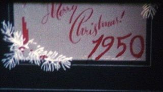 Great 1950 - 1954 16mm Home Movies - Christmas Mornings - Great 50s Toys