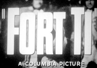 """"""" Fort Ti """" - 16mm Full Theatrical Trailer George Montgomery Action Western"""