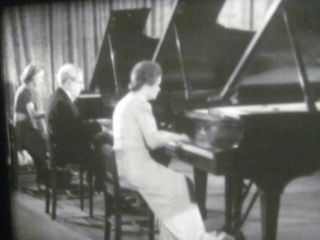 16mm Film Keyboard Concerts Piano Trio Tchaikovsky Rachmaninoff Classical Music