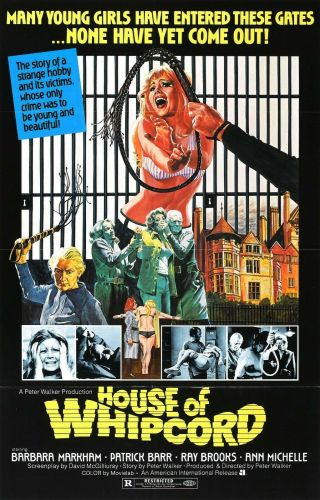Rare 16mm Feature: House Of Whipcord (barbara Markham - Sheila Keith) S & M Horror