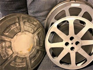 16mm Feature Film – House In The Woods (1957) Mounted On 2 1600ft Reels