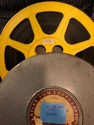 """16mm Bw Short With Sound - """"one More Chance"""" (1931) With Bing Crosby."""