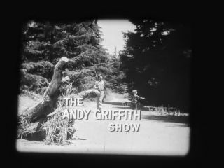 """16mm B&w Film,  Andy Griffith,  """" Opie And The Bully """",  S2,  E1,  1961."""