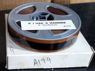 """16mm Magnetic Sound - Scopitone - """" If I Had A Hammer """" - Les Surfaros - French Version"""