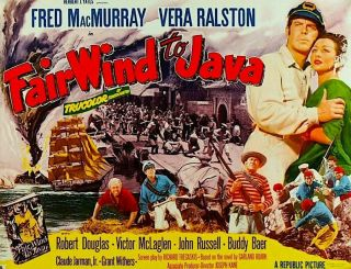 Fair Wind To Java - 16mm Action - Adv Fred Macmurray,  Vera Ralston,  Vic Mclaglan