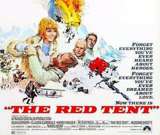 The Red Tent - 16mm Action - Adv Peter Finch,  Sean Connery,  Claudia Cardinale