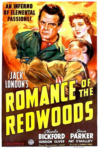 Romance Of The Redwoods - 16mm Action - Adv - Drama Charles Bickford,  Jean Parker
