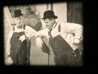The Music Box (1932) - Laurel And Hardy.  16mm Print.  .
