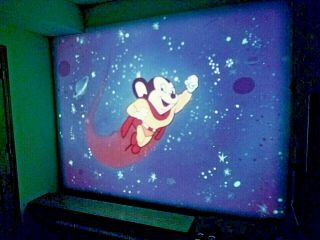 "16mm Film: Mighty Mouse Cartoon - "" Beauty On The Beach "" - 7/21/50 - Color"
