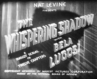 16mm Orig Rare - Bela Lugosi - Whispering Shadow1933 Pd Complete 12 Chapter Serial
