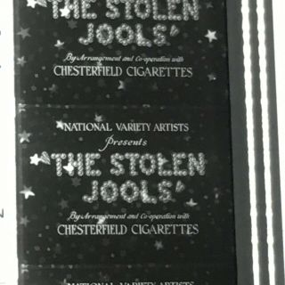16mm Film The Stolen Jools Laurel & Hardy Blackhawk Print Near